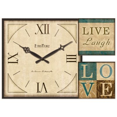 FirsTime® Love Gallery Wall Clock