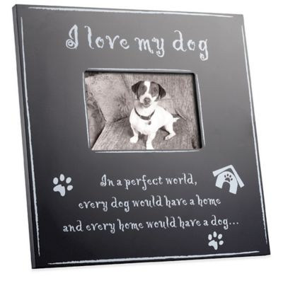 Picture Frame for Dog Pictures