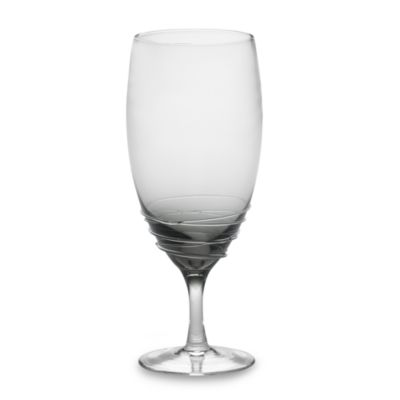 Mikasa® Swirl Iced Beverage Glass in Smoke