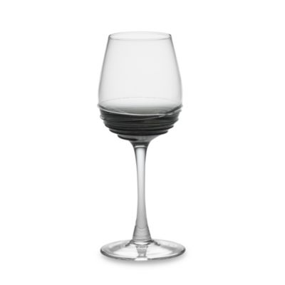 Swirl Wine Glass in Smoke