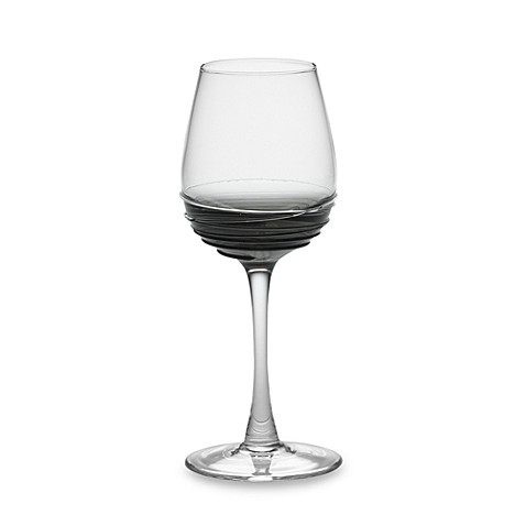 Mikasa® Swirl Wine Glass in Smoke