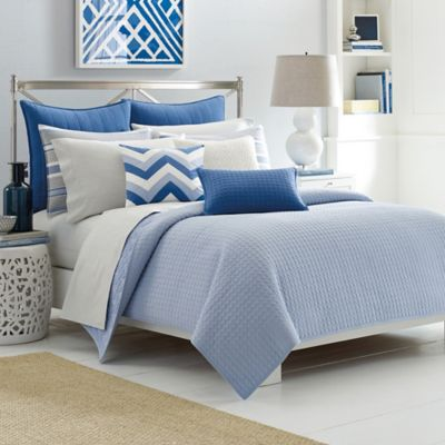 Nautica® Sedgemoor Twin Coverlet in Chambray