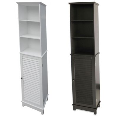 Summit Tall Cabinet Tower in White