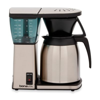 Bed Bath And Beyond Thermal Coffee Maker : Bonavita 8-Cup Coffee Brewer with Thermal Carafe - Bed Bath & Beyond
