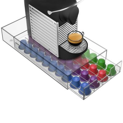 "Mind Reader ""Plexus"" 40-Capacity Nespresso® Capsule Drawer"
