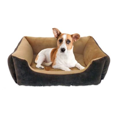 Pawslife™ 24-Inch x 20-Inch Lounger Pet Bed in Chocolate