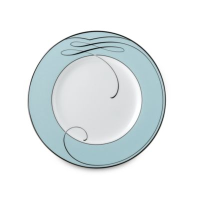 Waterford® Ballet Ribbon Accent Plate in Blue