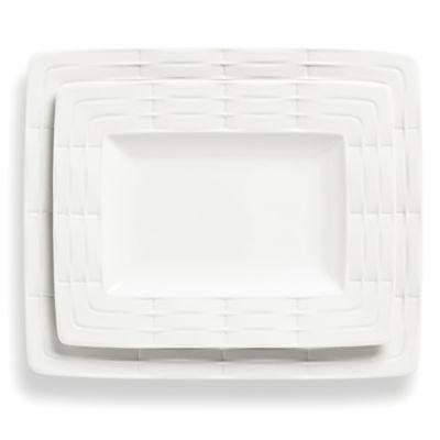 Lenox® Entertain 365 Sculpture 2-Piece Rectangular Platter Set
