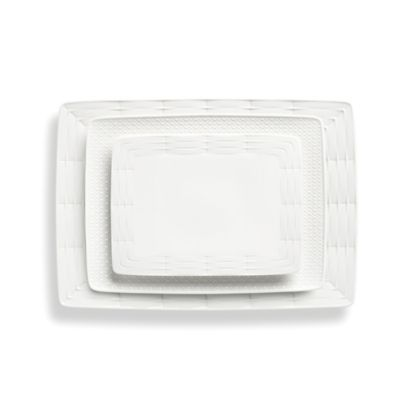 Lenox® Entertain 365 Sculpture 3-Piece Rectangular Platter Set