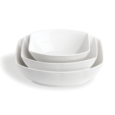 Lenox® Entertain 365 Sculpture 3-Piece Rectangular Bowl Set
