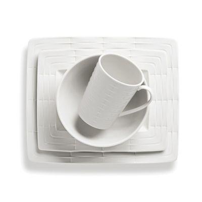 Lenox® Entertain 365 Sculpture Rectangular 4-Piece Place Setting