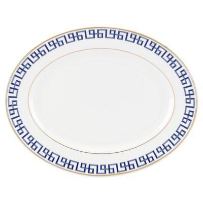 Lenox® Gluckstein Darius 13-Inch Oval Platter in Gold