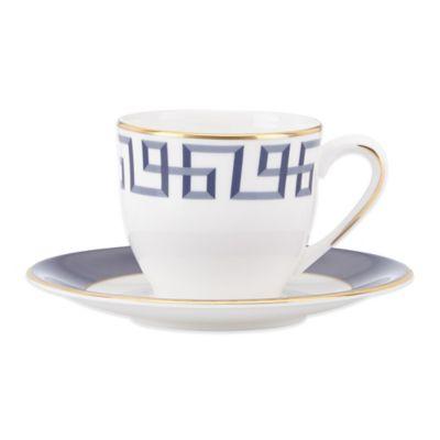 Lenox® Gluckstein Darius Cup & Saucer Set in Gold