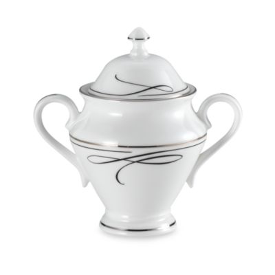 Waterford® Ballet Ribbon Covered Sugar Bowl