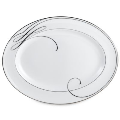 Waterford® Ballet Ribbon 15 1/4-Inch Platter