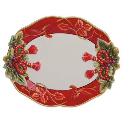 Fitz and Floyd® Regal Holiday 16-Inch Serving Platter