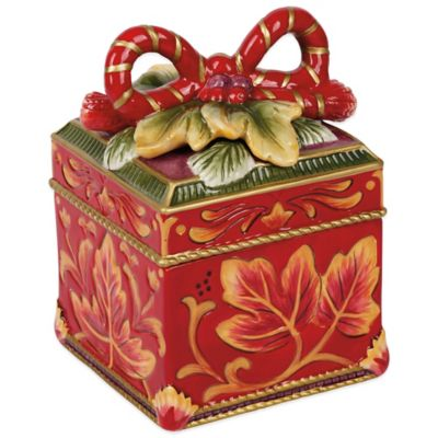 Fitz and Floyd® Regal Holiday Lidded Box