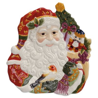 Fitz and Floyd® Regal Holiday 8-3/4-Inch Canape Plate
