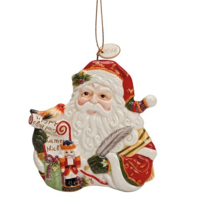 Fitz and Floyd® Regal Holiday Dated Ornament