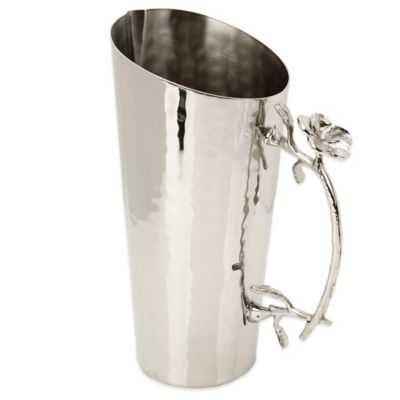 Hammered Stainless Steel Pitcher