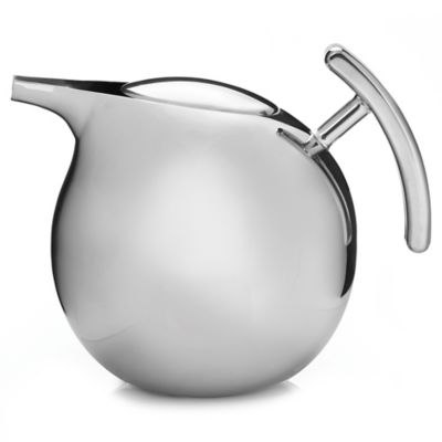 Nambe Kurl Teapot with Infuser