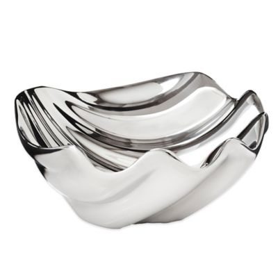 Nambe Oceana Sea Shell Dip Bowl