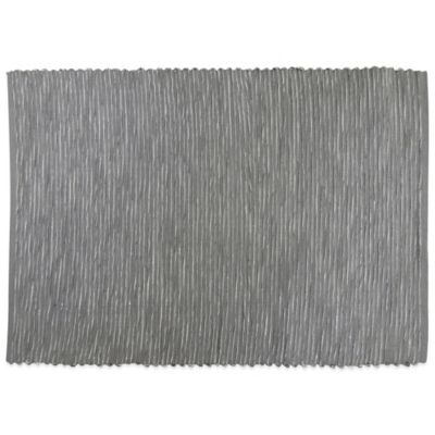 Park B. Smith® Biscayne Woven Placemat in Platinum