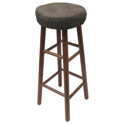 Klear Vu Embrace Barstool Cover in Chocolate