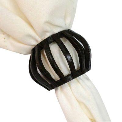 Wood Lantern Napkin Ring
