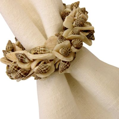 By The Sea Natural Shell Napkin Ring