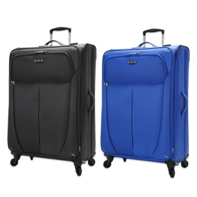 Skyway® Luggage Mirage Superlight 24-Inch Expandable Spinner in Maritime Blue