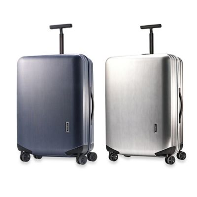 Metallic Silver Luggage Carry Ons