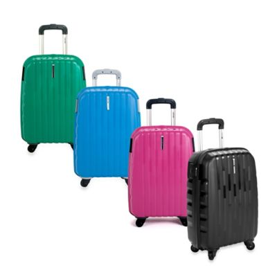 DELSEY Helium Colours 21-Inch Carry-On Spinner Hardside Luggage in Rose