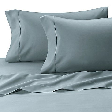 MicroTouch King Sateen Sheet Set in Sky