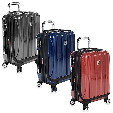 delsey helium aero 19 inch carry on spinner bed bath beyond. Black Bedroom Furniture Sets. Home Design Ideas