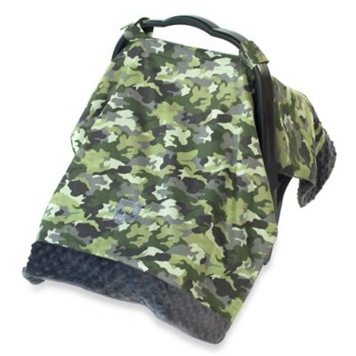 Itzy Ritzy® Cozy Happens™ Infant Car Seat Canopy and Tummy Time Mat in Camo