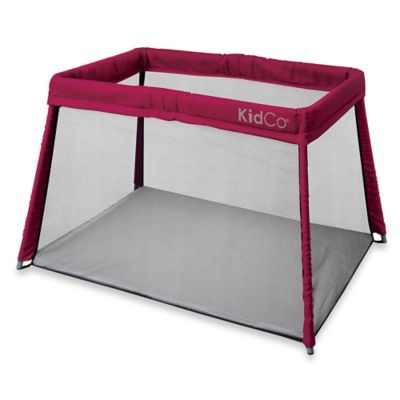 KidCo® Travel Pod Portable Playard in Cranberry