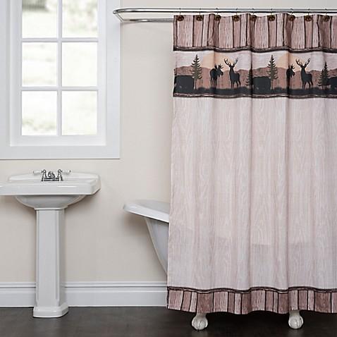 Silhouette Wildlife Shower Curtain Bed Bath Amp Beyond