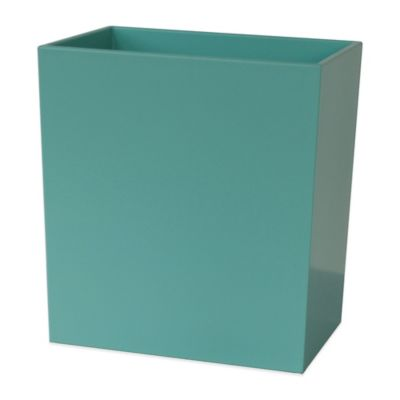 Delancey Wastebasket in Hampton Blue