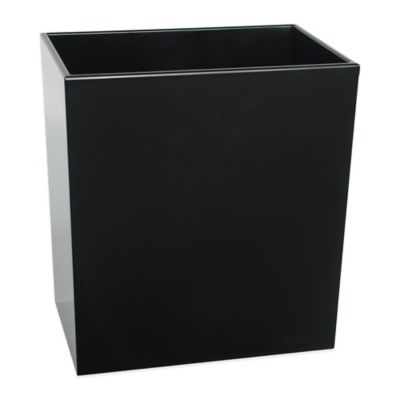 Delancey Wastebasket in Black