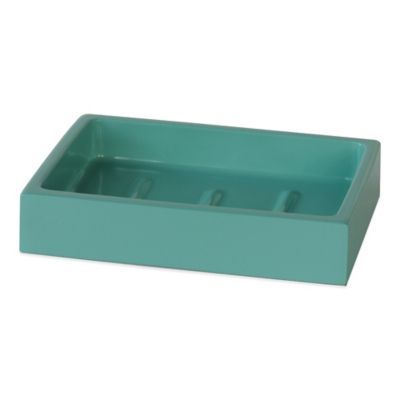 Delancey Soap Dish in Hampton Blue