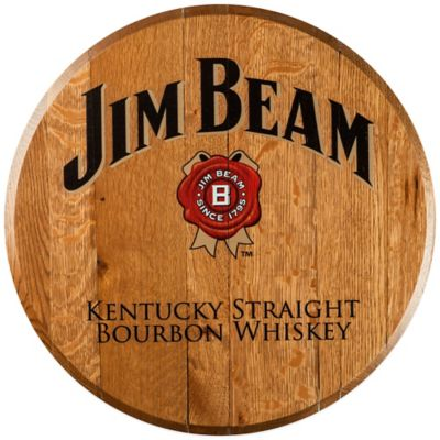 Jim Beam® Bourbon Barrel Head Wall Décor
