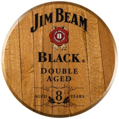 Jim Beam® Black Bourbon Barrel Head Wall Décor
