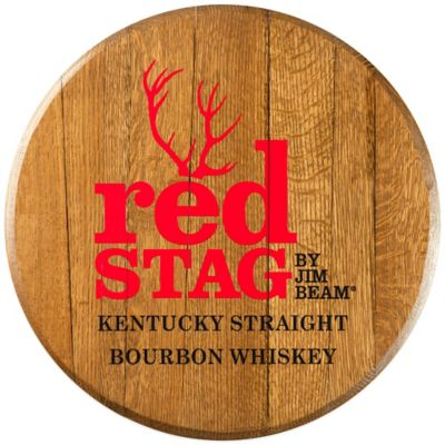 Jim Beam® Red Stag Bourbon Barrel Head Wall Décor