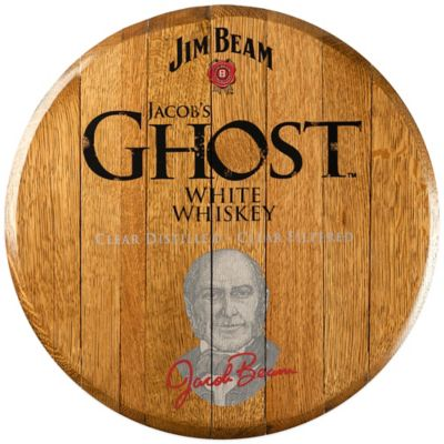 Jim Beam® Jacob's Ghost Bourbon Barrel Head Wall Décor