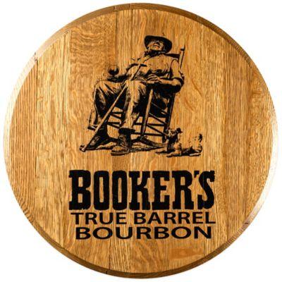 Booker's Bourbon Barrel Head Wall Décor