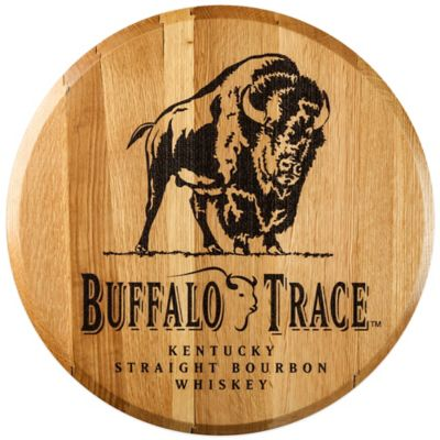 Buffalo Trace Bourbon Barrel Head Wall Décor