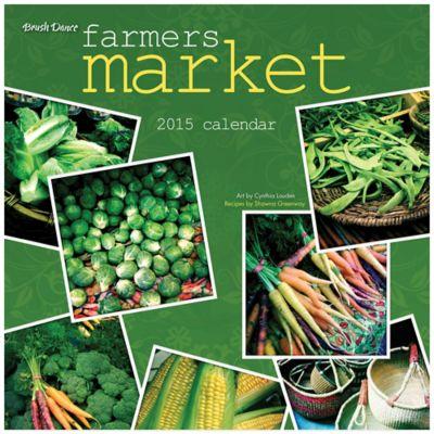 Brush Dance Farmers Market 2015 Wall Calendar