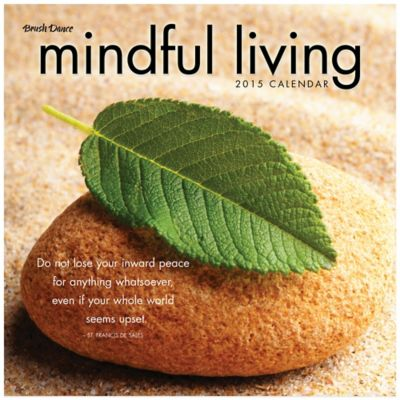 Brush Dance Mindful Living 2015 Wall Calendar
