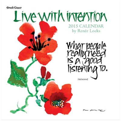 Brush Dance Live with Intention 2015 Wall Calendar